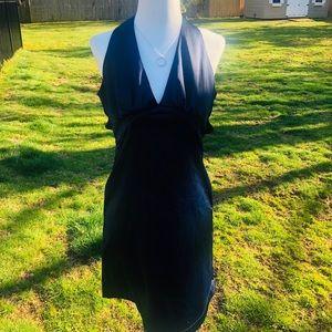 Gorgeous Criss Cross Blue Dress
